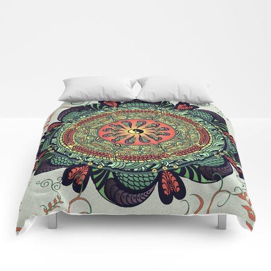 812 Multicolor Mandala Comforters