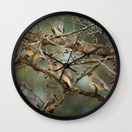 Family Reunion Wall Clock