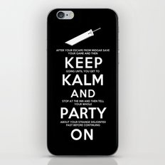 Final Fantasy 7: Keep Kalm iPhone & iPod Skin