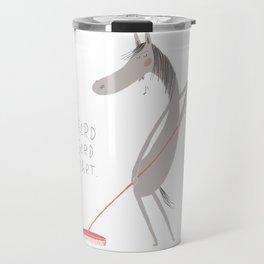 Pferd Gerd kehrt Travel Mug