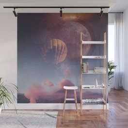 Cotton Candy Galaxy Wall Mural