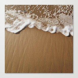 Foamy Waters Canvas Print
