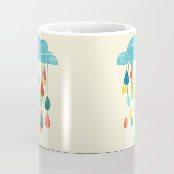 cloudy with a chance of rainbow Coffee Mug