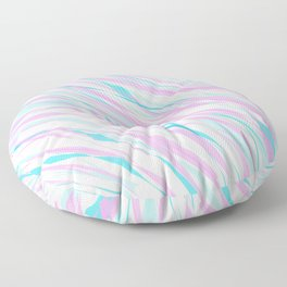 Soft Fluffy Fur Abstract Design Floor Pillow