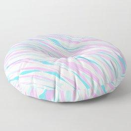 Soft Fluffy Fur Abstract Design Floor Pillow