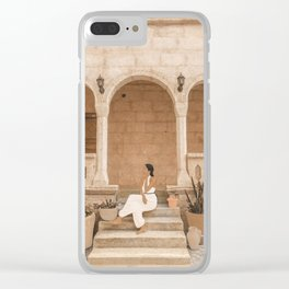 On the Steps Clear iPhone Case