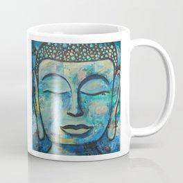 Blue Zen Buddha Coffee Mug