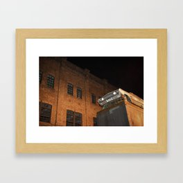 Steel & Streets Framed Art Print