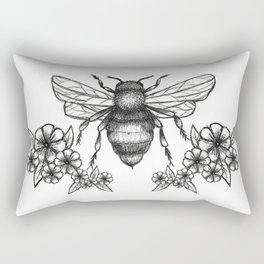 give me some sugar, little honey bee Rectangular Pillow