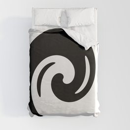 Yin Yang Exagerated Duvet Cover