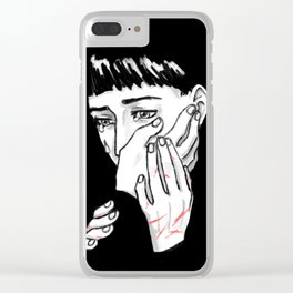 Hold Me Clear iPhone Case