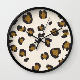 SEEING SPOTS - NEUTRAL Wall Clock