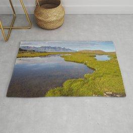 Icelandic landscape Rug