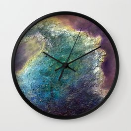 Metaphorical Crush by Nadia J Art Wall Clock