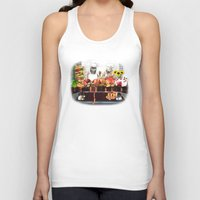 sloths Tank Tops featuring Sloths by Big AL