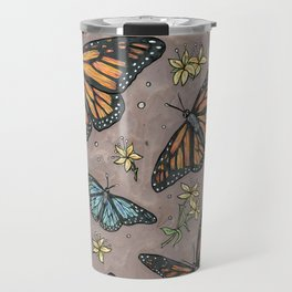 monarch butterflies. Travel Mug