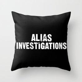 Jessica Jones - Alias investigations Throw Pillow