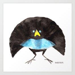 Bird no. 360: Hunky Vogelkop Art Print