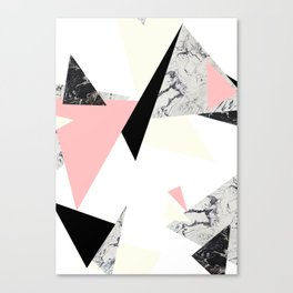Floating Forms Canvas Print