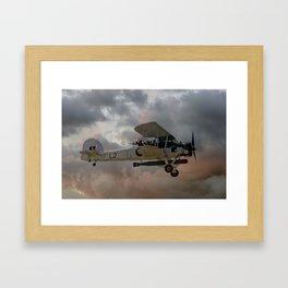 Stringbag Salute - (Swordfish Torpedo Bomber) Framed Art Print