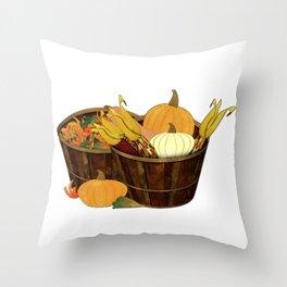 The Splendor of Autumn Throw Pillow