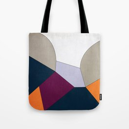 Geometric YM Tote Bag