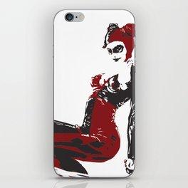 Harley Quiin vector iPhone Skin