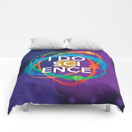 I DO SCIENCE Comforters