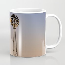 The Old and The New #windmills Coffee Mug