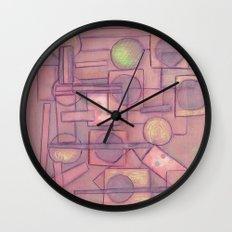 Itinerant Musician Wall Clock