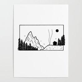 Petit campement Poster
