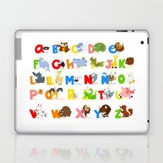 ABC (spanish) Laptop & iPad Skin