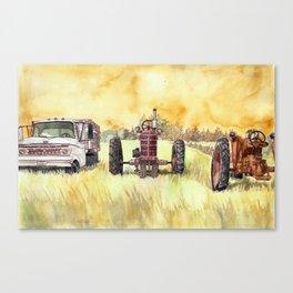 Retirees Canvas Print