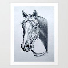 Handsome : Vain (Aust) Art Print