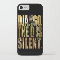 django iPhone & iPod Cases featuring Django Unchained by SB Art Productions