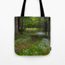Forget-me-not Trail Tote Bag