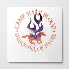 daughter of hades - cabin shirt Metal Print
