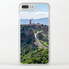 Civita di Bagnoregio - Italy Clear iPhone Case