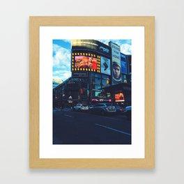 Dowtown Toronto Framed Art Print
