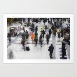 Commuter Art Art Print