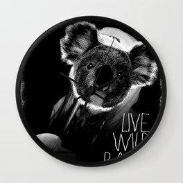 Koala test Wall Clock