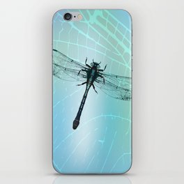 Dragonfly vector iPhone Skin