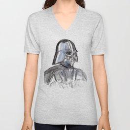 Father Darth Vader Unisex V-Neck