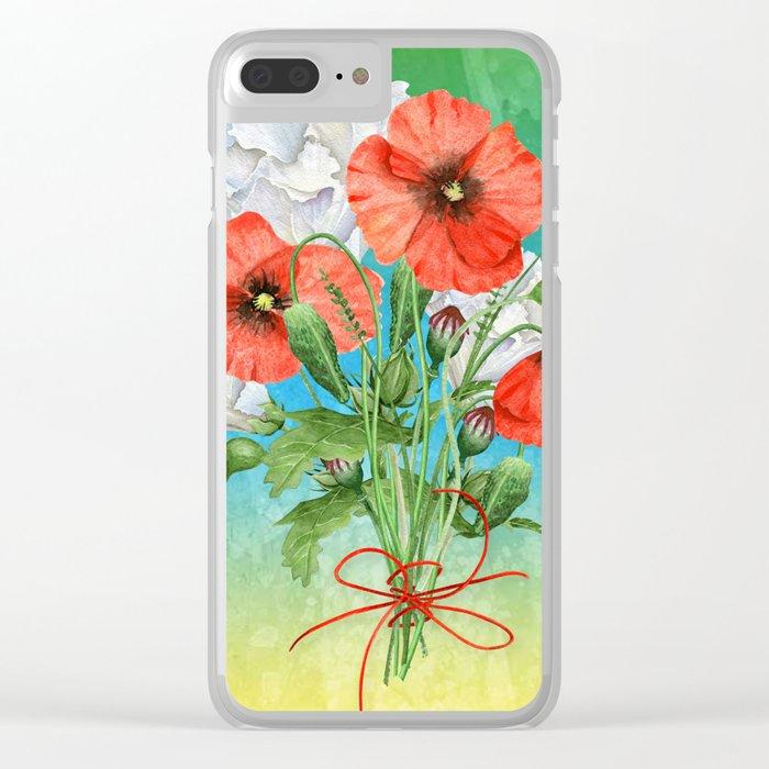 Flowers bouquet #24 Clear iPhone Case