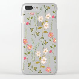 Botanical Study Clear iPhone Case