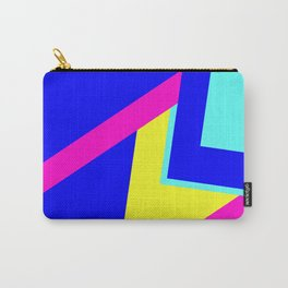 Summer Color Block Carry-All Pouch