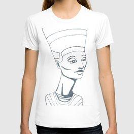 Nefertiti Sketch T-shirt