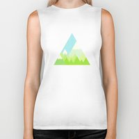 the national Biker Tanks featuring national park by emma method