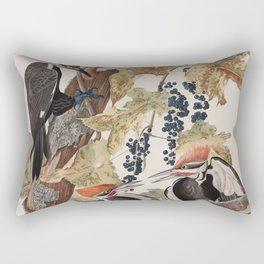 John James Audubon -Woodpecker Rectangular Pillow