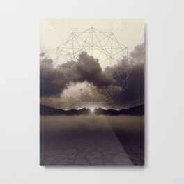 Beyond the Fog Lies Clarity | Dawn Metal Print
